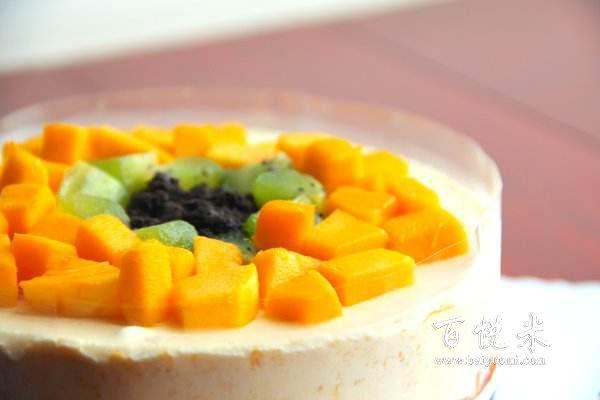 教爱吃西点的你亲手制作芒果慕斯蛋糕,简单易学又美味!