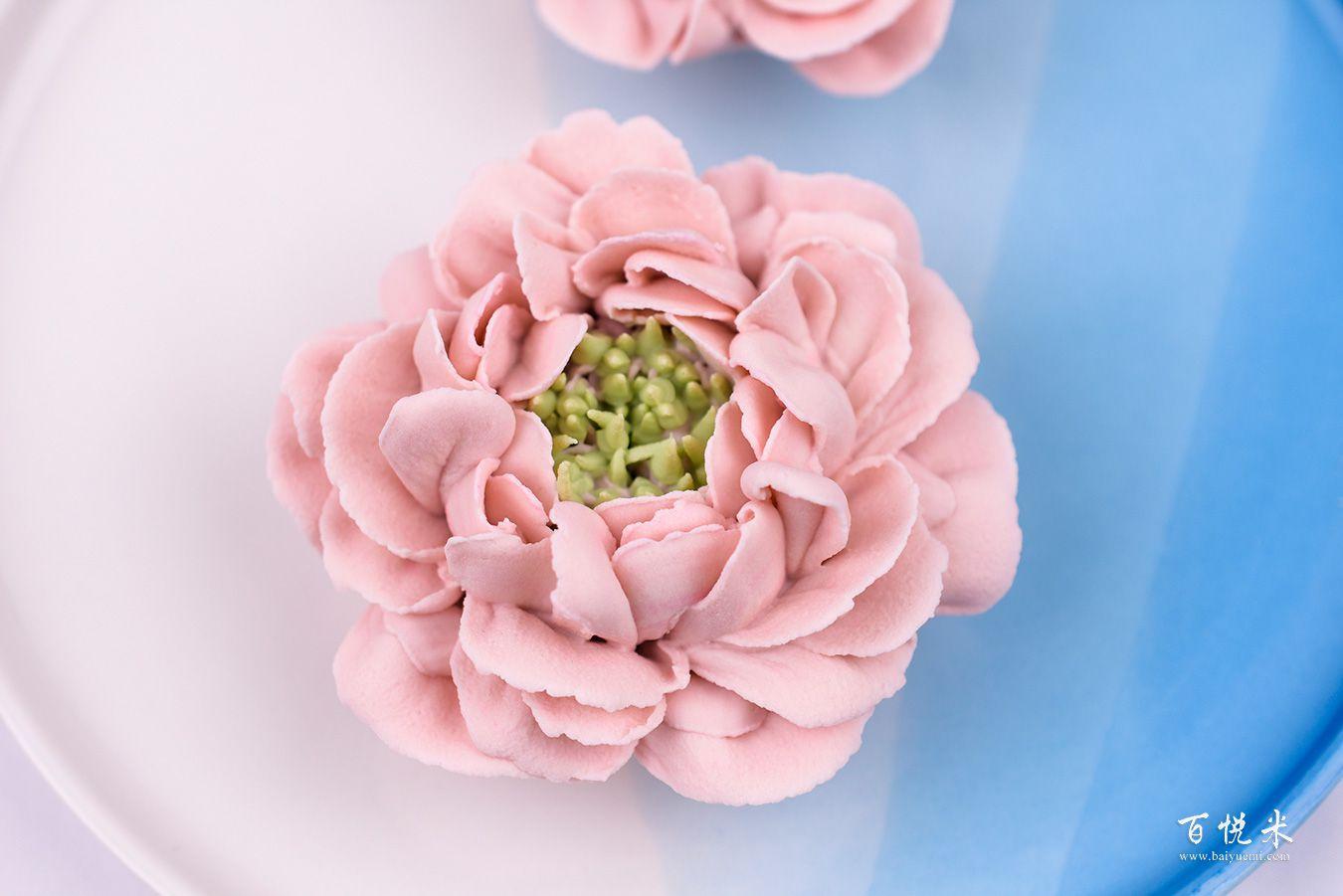 韩式裱花-牡丹花高清图片大全【蛋糕图片】_974