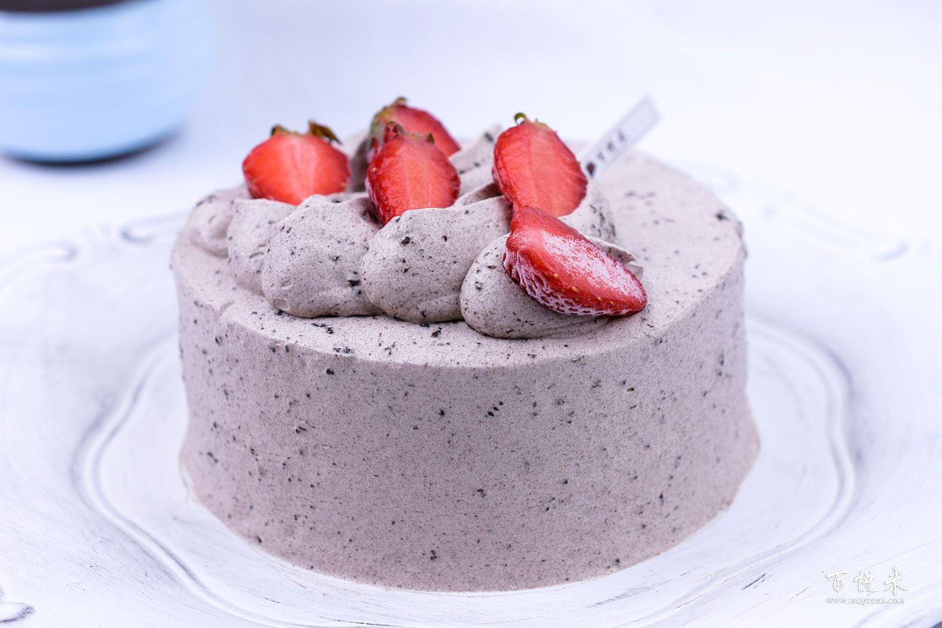 奥利奥咸奶油草莓蛋糕的做法大全,咸奶油草莓蛋糕培训怎么做