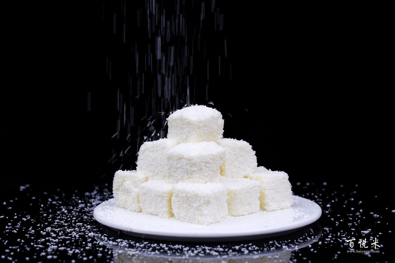 椰蓉牛奶小方高清图片大全【蛋糕图片】_1025