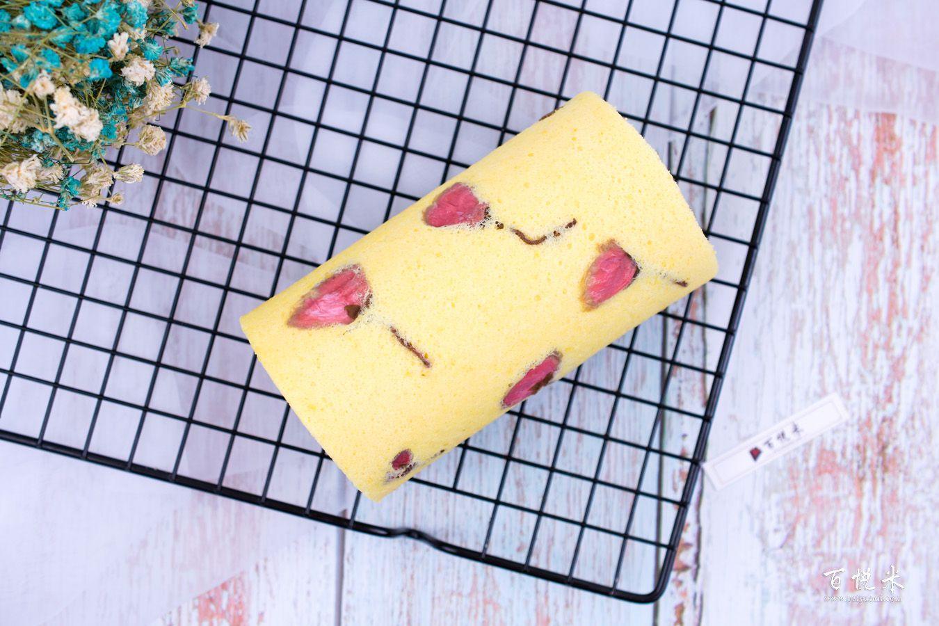 樱花蛋糕卷的做法大全,樱花蛋糕卷培训怎么做