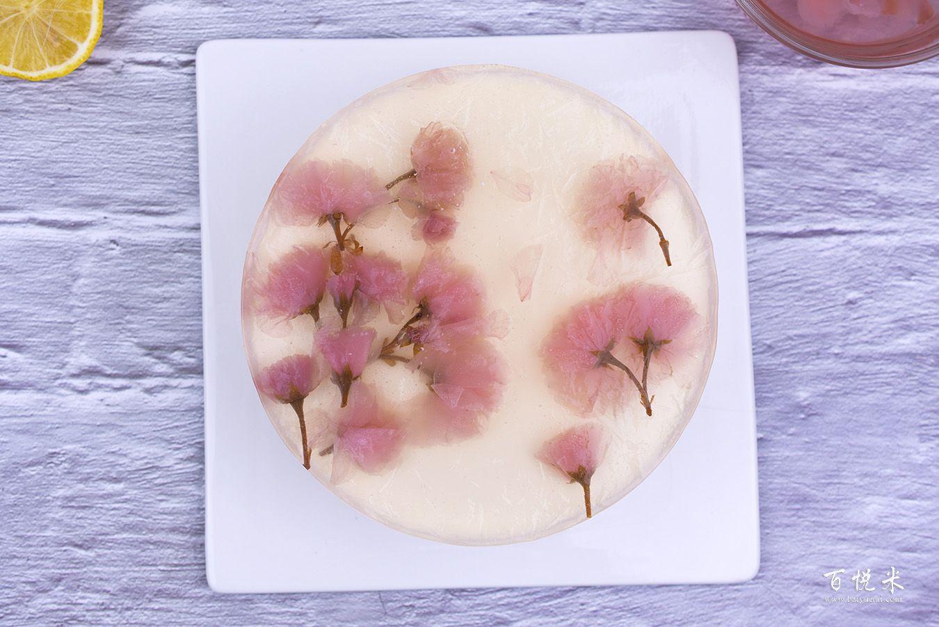 樱花酸奶慕斯高清图片大全【蛋糕图片】_1037