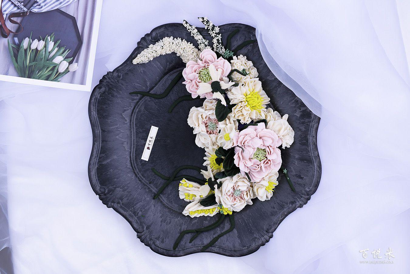 韩式裱花-叶子、花藤高清图片大全【蛋糕图片】_1054