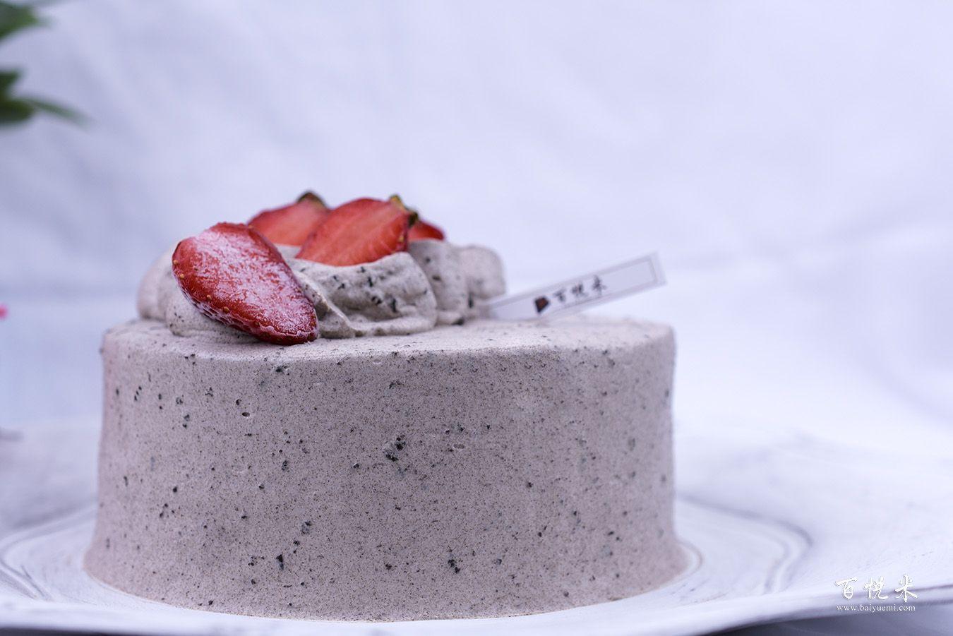 奥利奥咸奶油草莓蛋糕高清图片大全【蛋糕图片】_1110