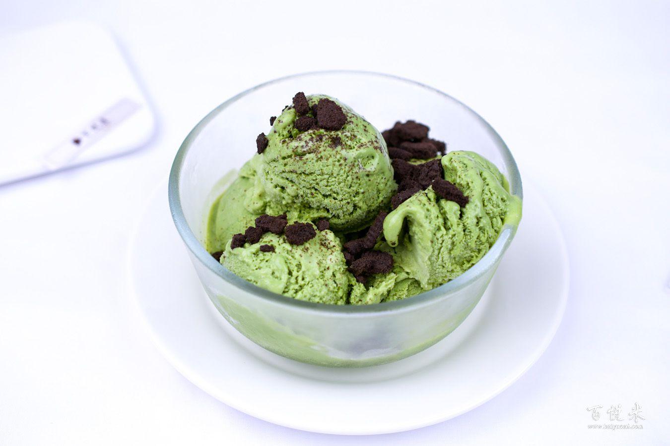 抹茶冰激凌的做法大全,抹茶冰激凌西点培训图文教程分享