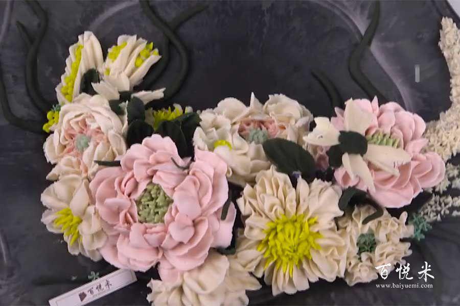 韩式裱花:花卉的做法视频大全_西点培训学习教程