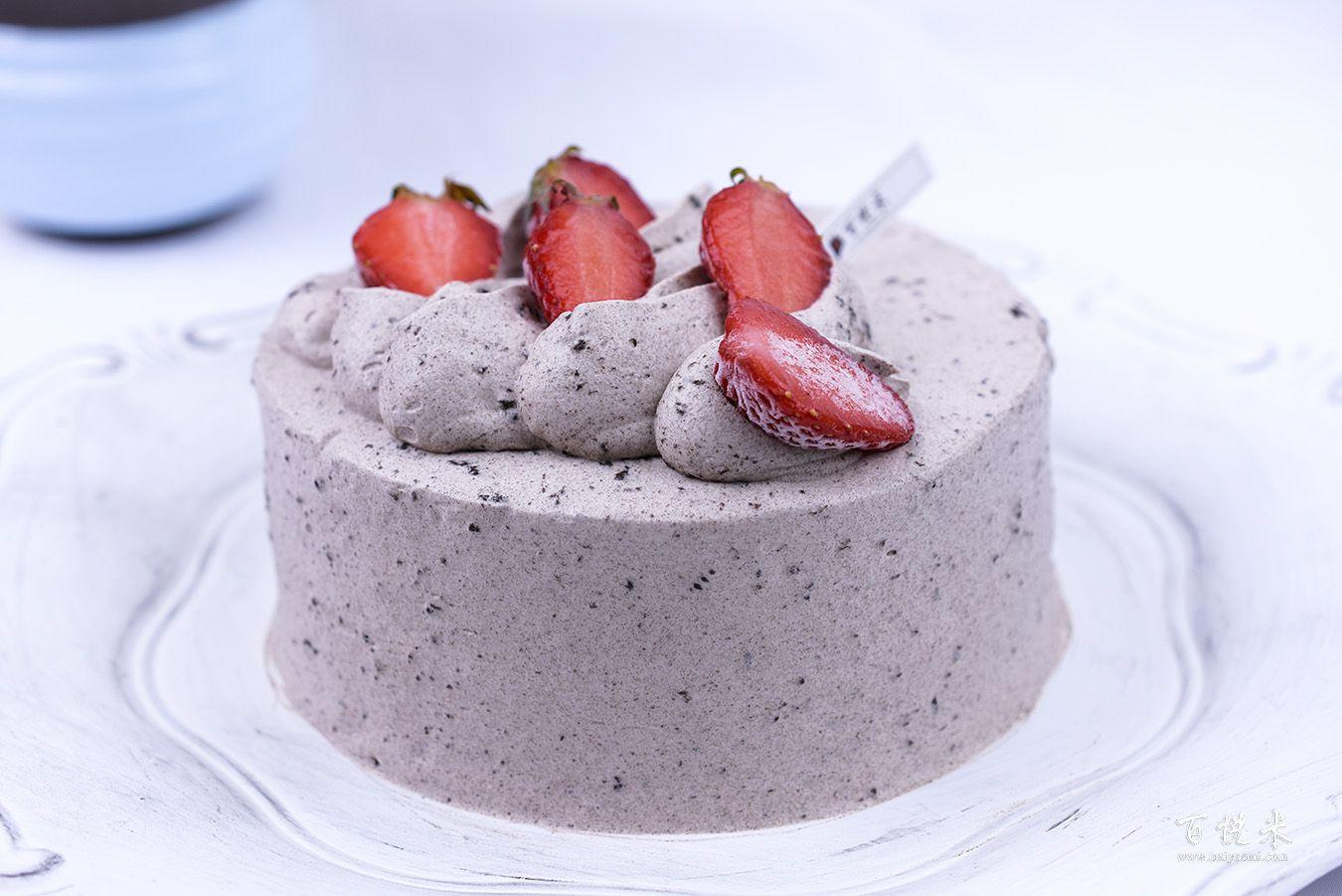 奥利奥咸奶油草莓蛋糕高清图片大全【蛋糕图片】_1113