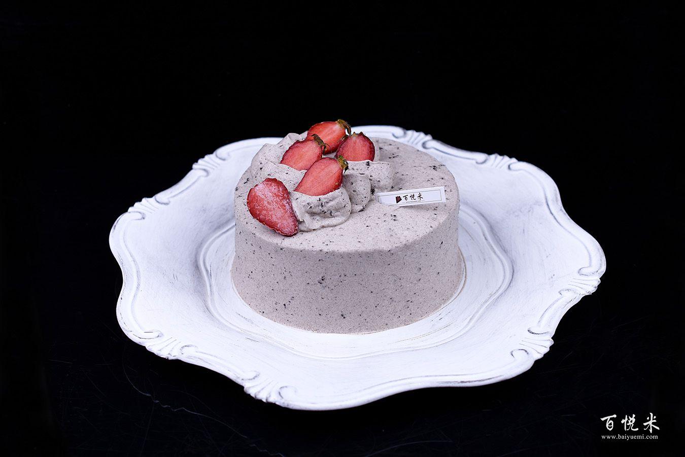奥利奥咸奶油草莓蛋糕高清图片大全【蛋糕图片】