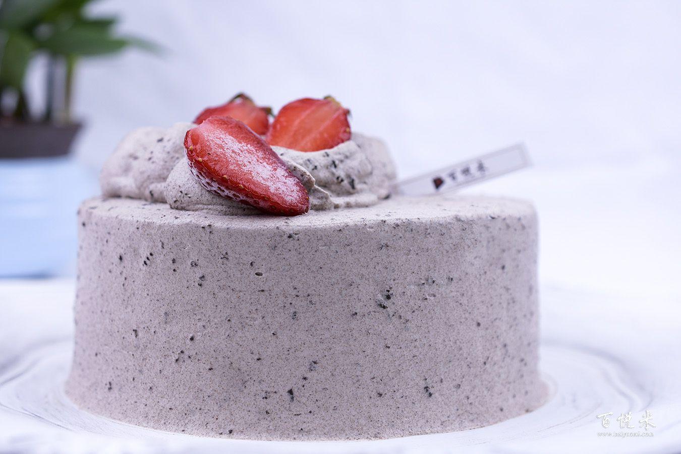 奥利奥咸奶油草莓蛋糕高清图片大全【蛋糕图片】_1114
