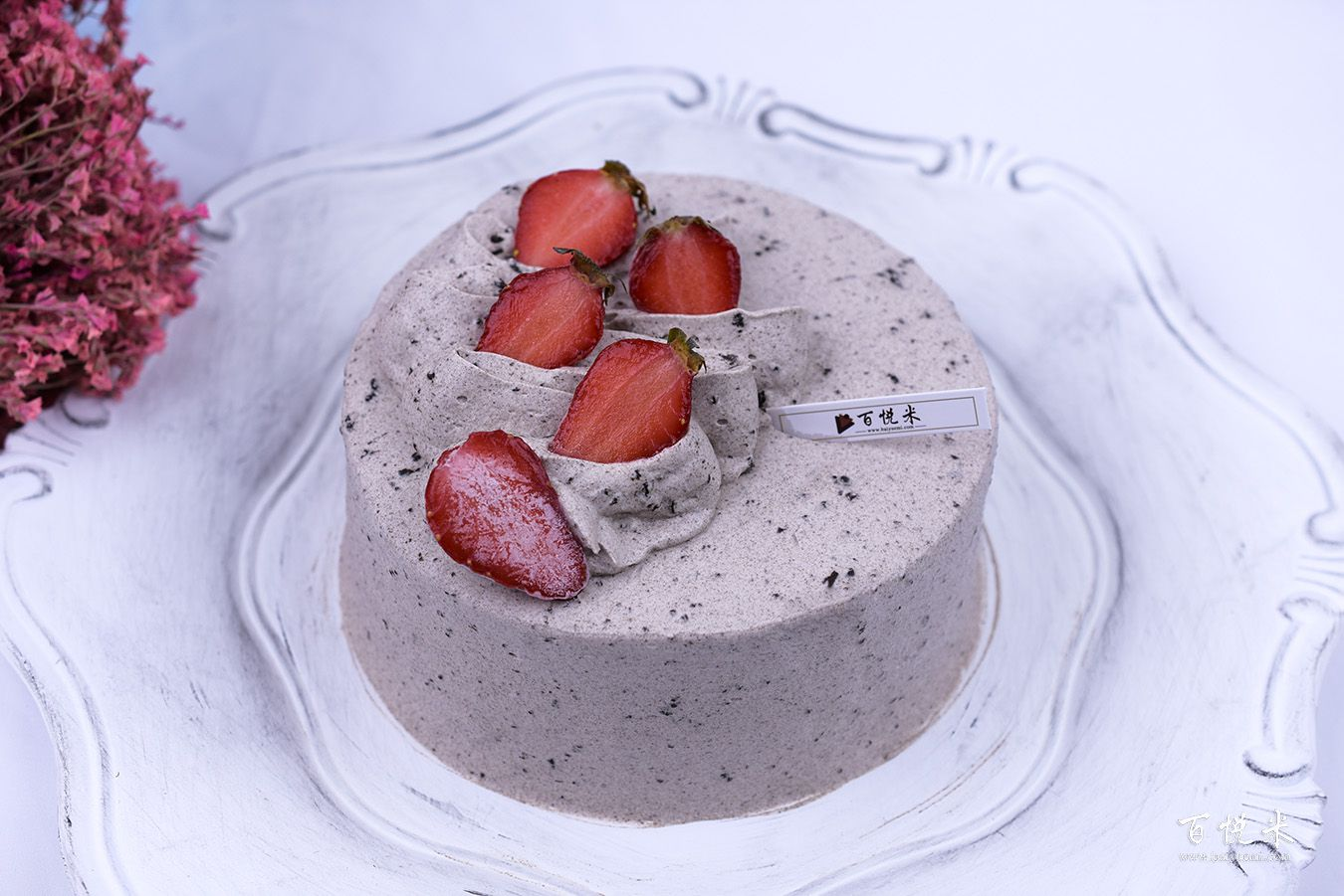奥利奥咸奶油草莓蛋糕高清图片大全【蛋糕图片】_1111