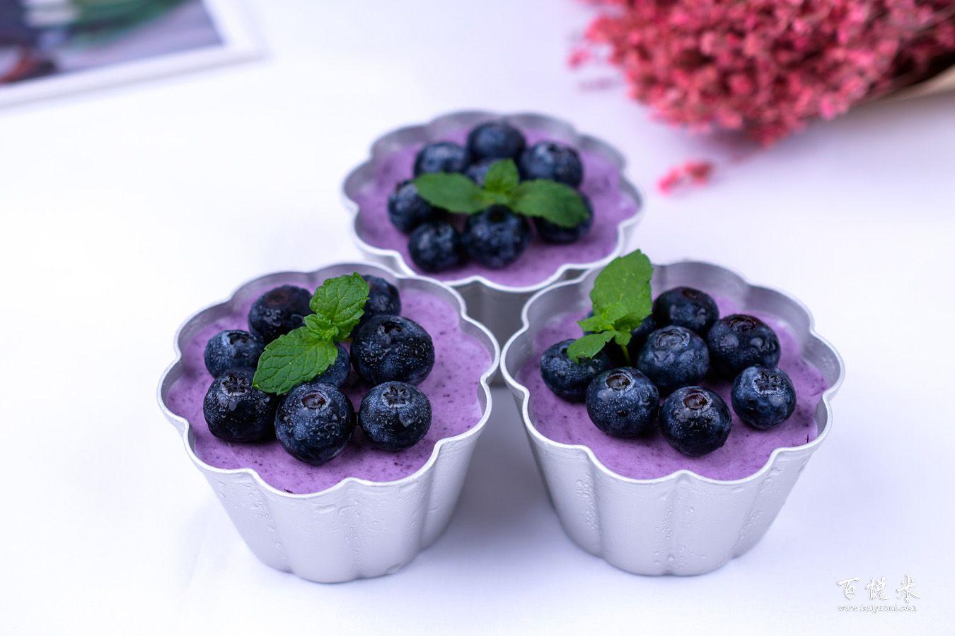 蓝莓冻芝士蛋糕的做法大全,冻芝士蛋糕培训怎么做