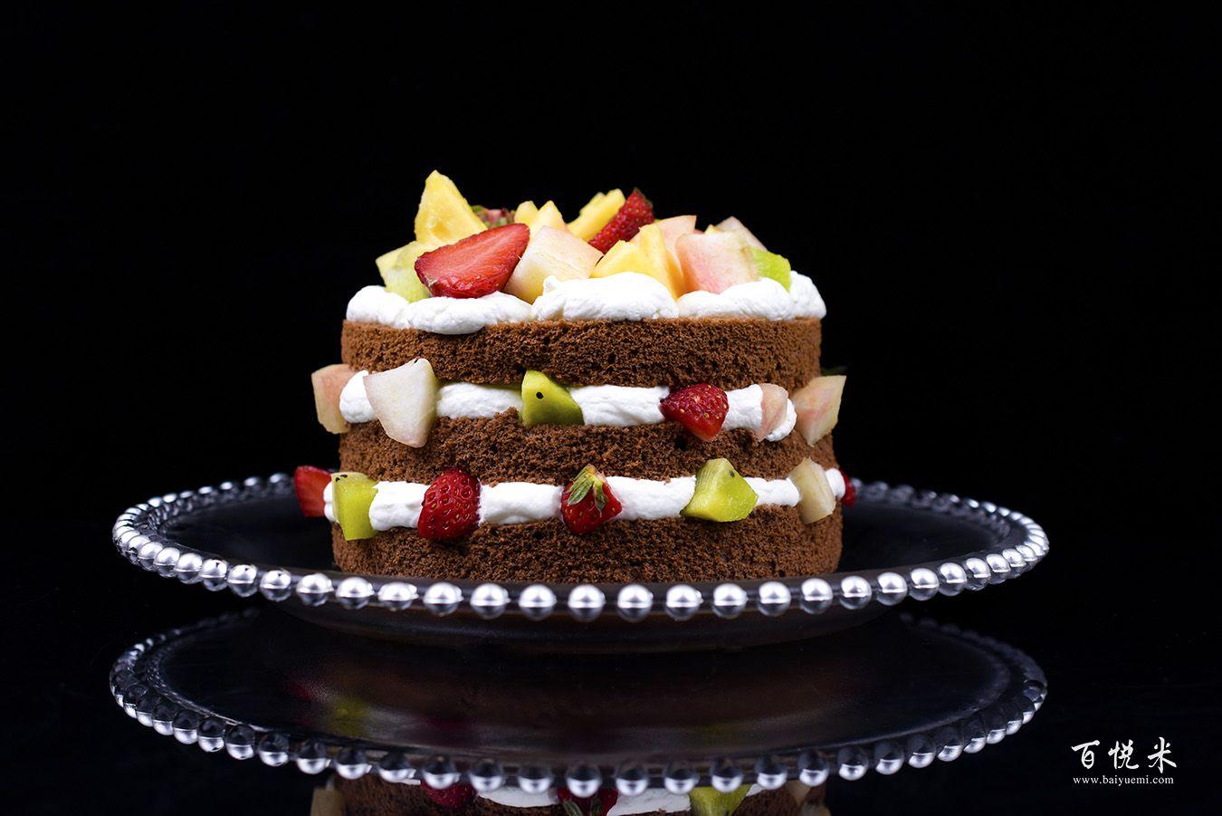 巧克力裸蛋糕的做法视频大全_西点培训学习教程