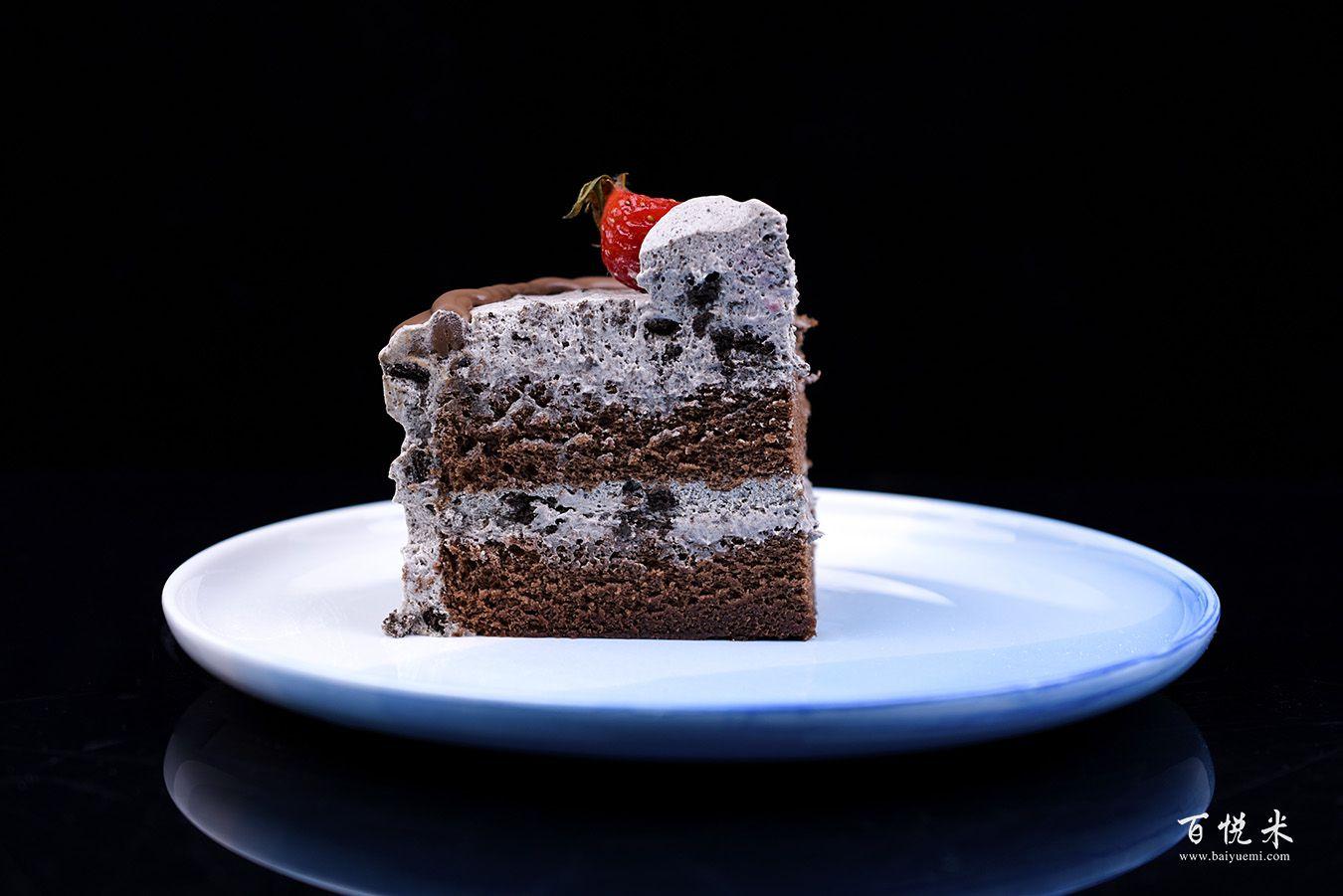 奥利奥咸奶油草莓淋面蛋糕高清图片大全【蛋糕图片】_1137