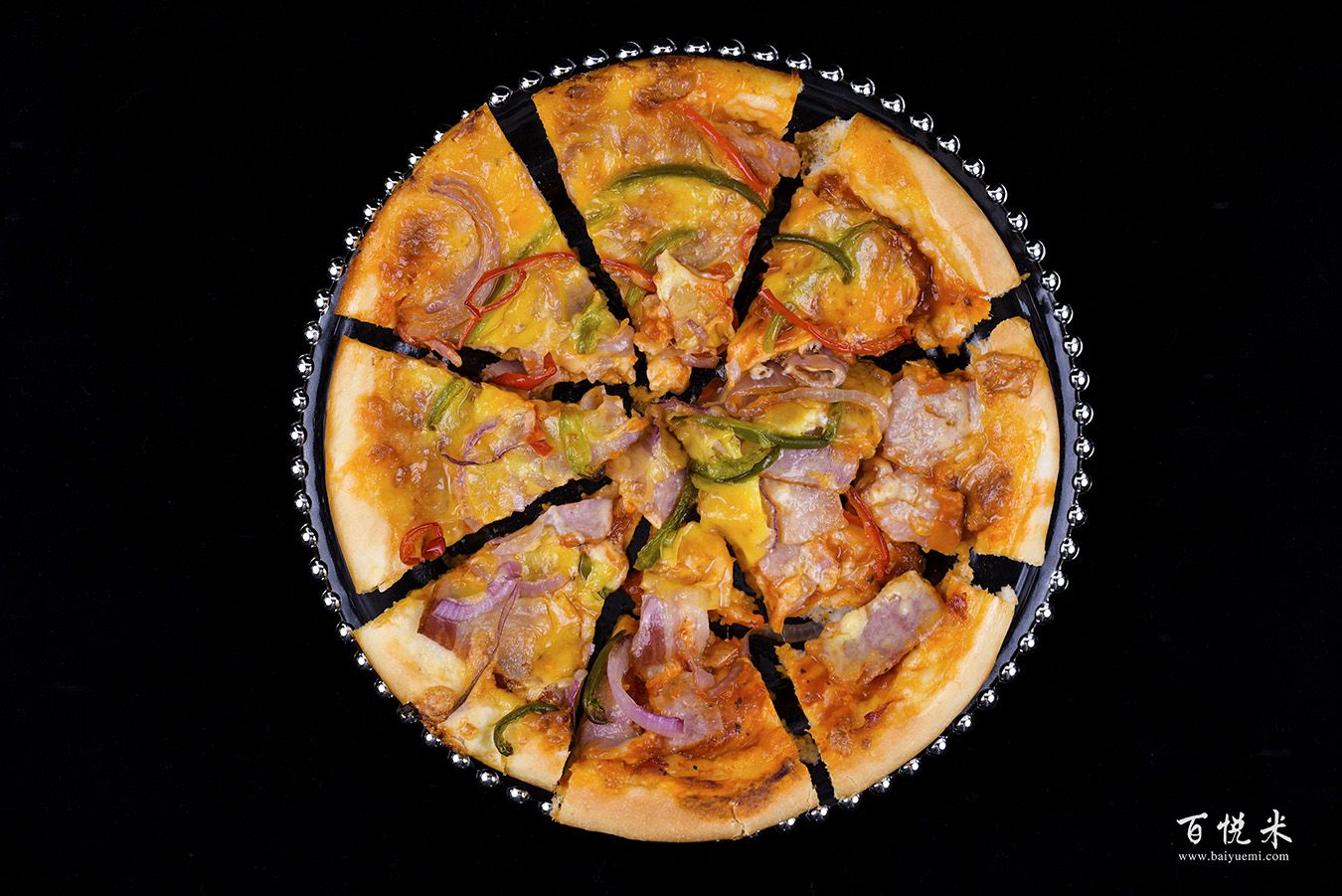 培根至尊披萨高清图片大全【蛋糕图片】_1183