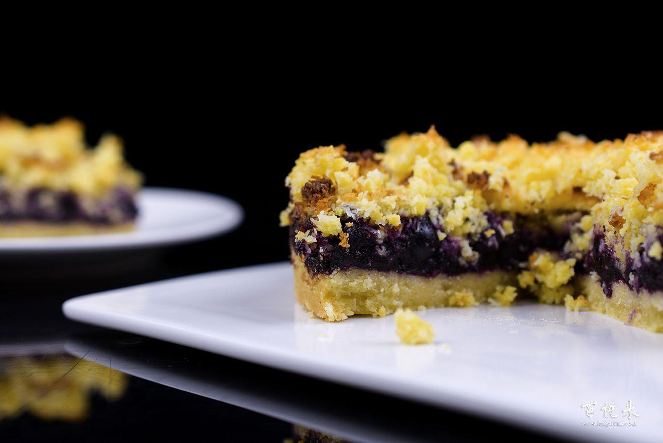 蓝莓酥粒小方块高清图片大全【蛋糕图片】_1206