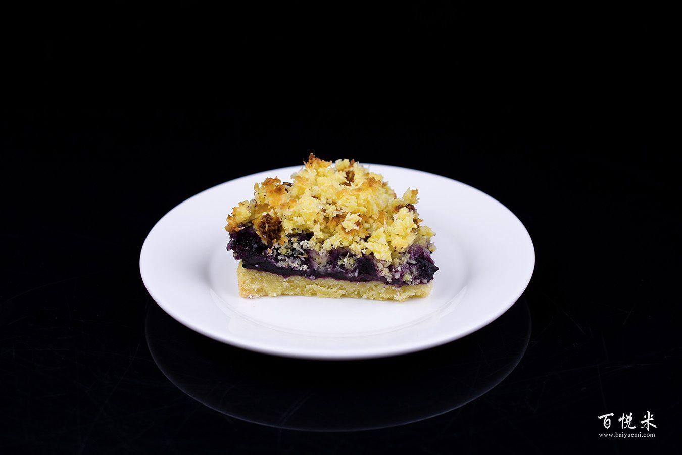 蓝莓酥粒小方块高清图片大全【蛋糕图片】_1205