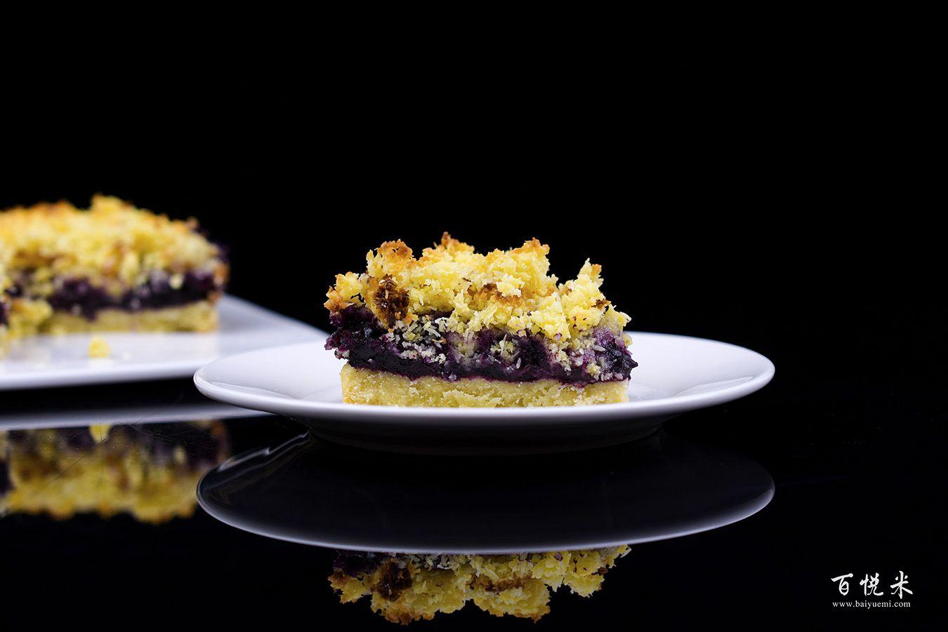 蓝莓酥粒小方块高清图片大全【蛋糕图片】_1203