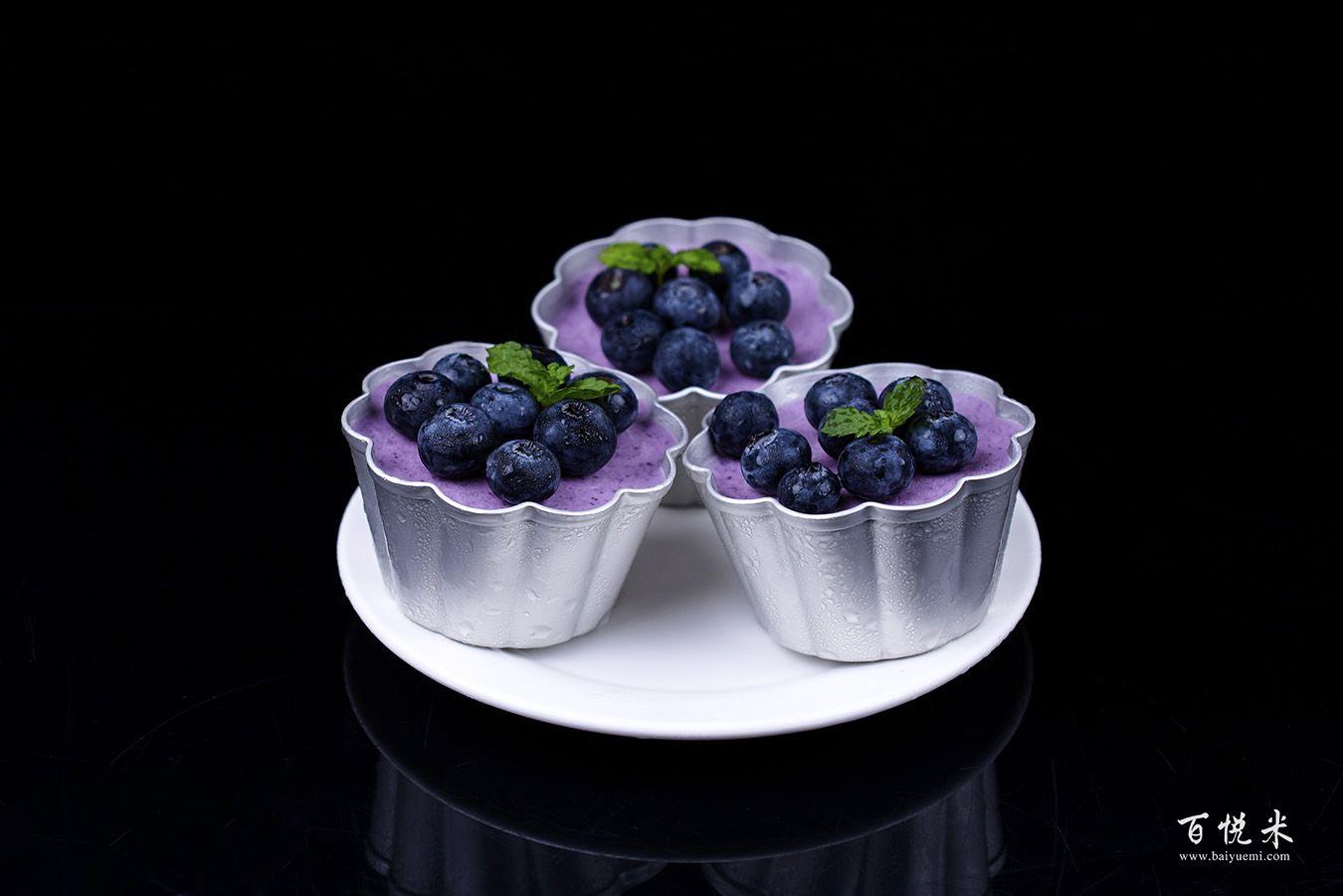 蓝莓冻芝士蛋糕高清图片大全【蛋糕图片】