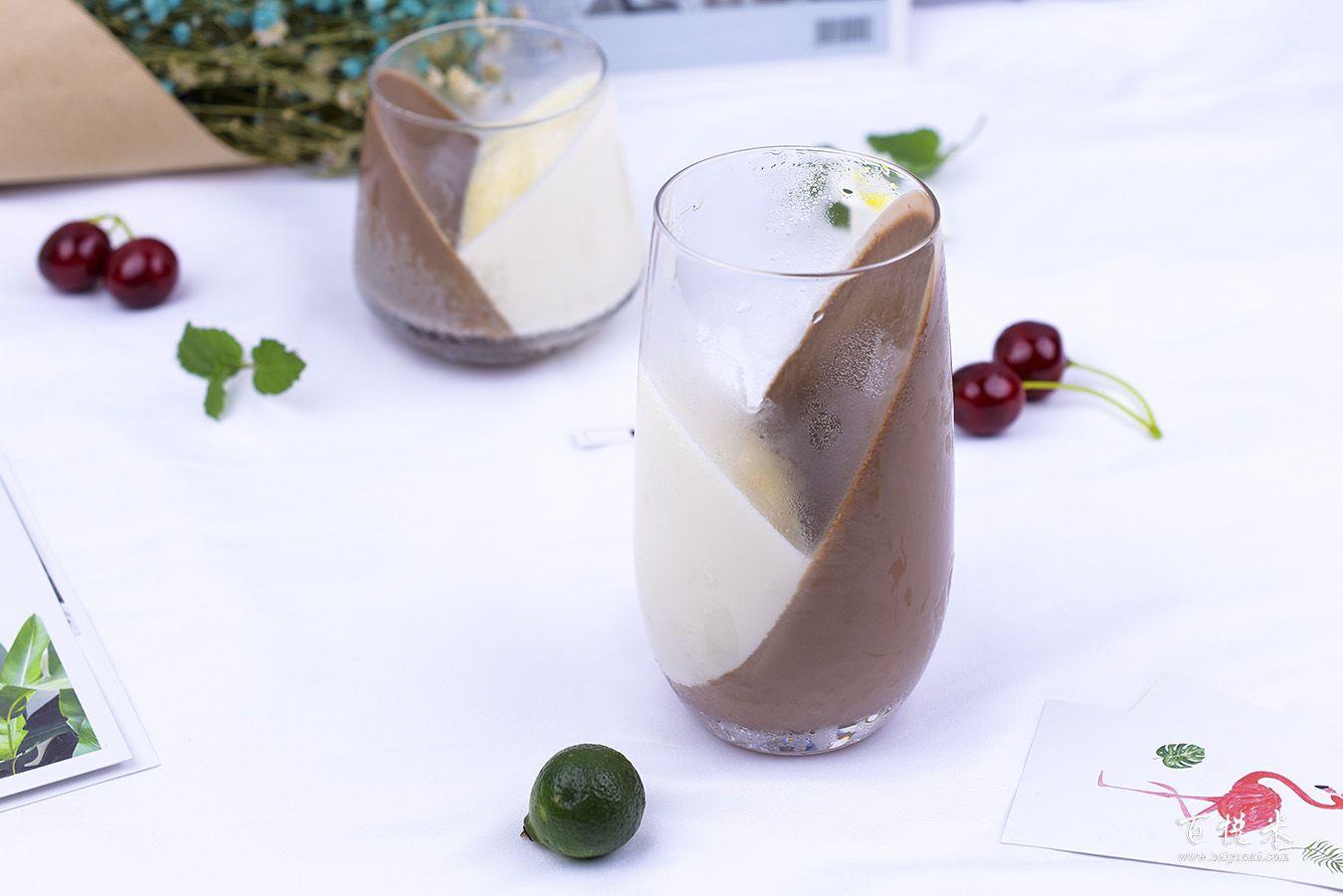 巧克力牛奶心形布丁高清图片大全【蛋糕图片】_1276