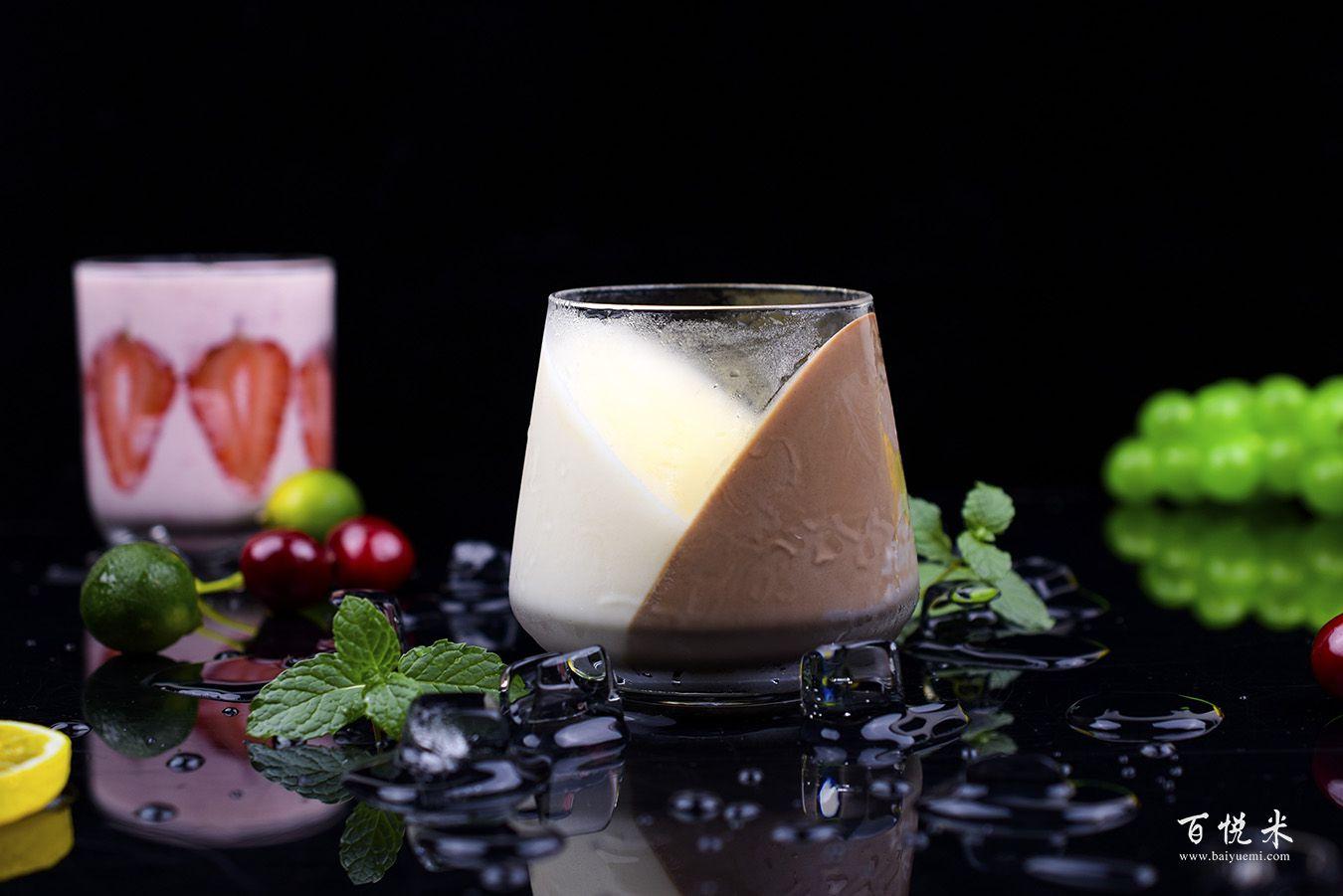 巧克力牛奶心形布丁高清图片大全【蛋糕图片】_1269