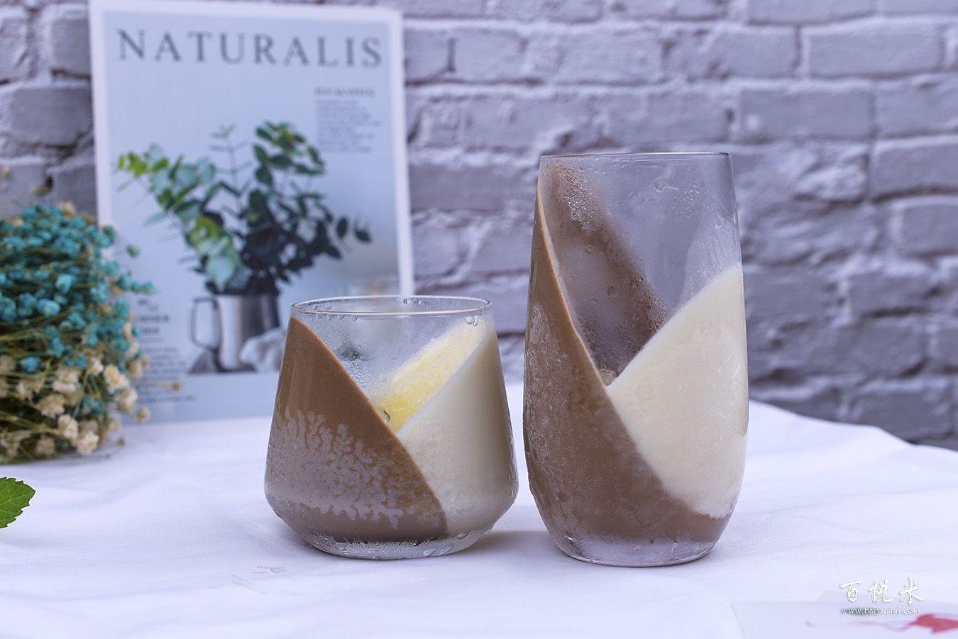 巧克力牛奶心形布丁高清图片大全【蛋糕图片】_1274