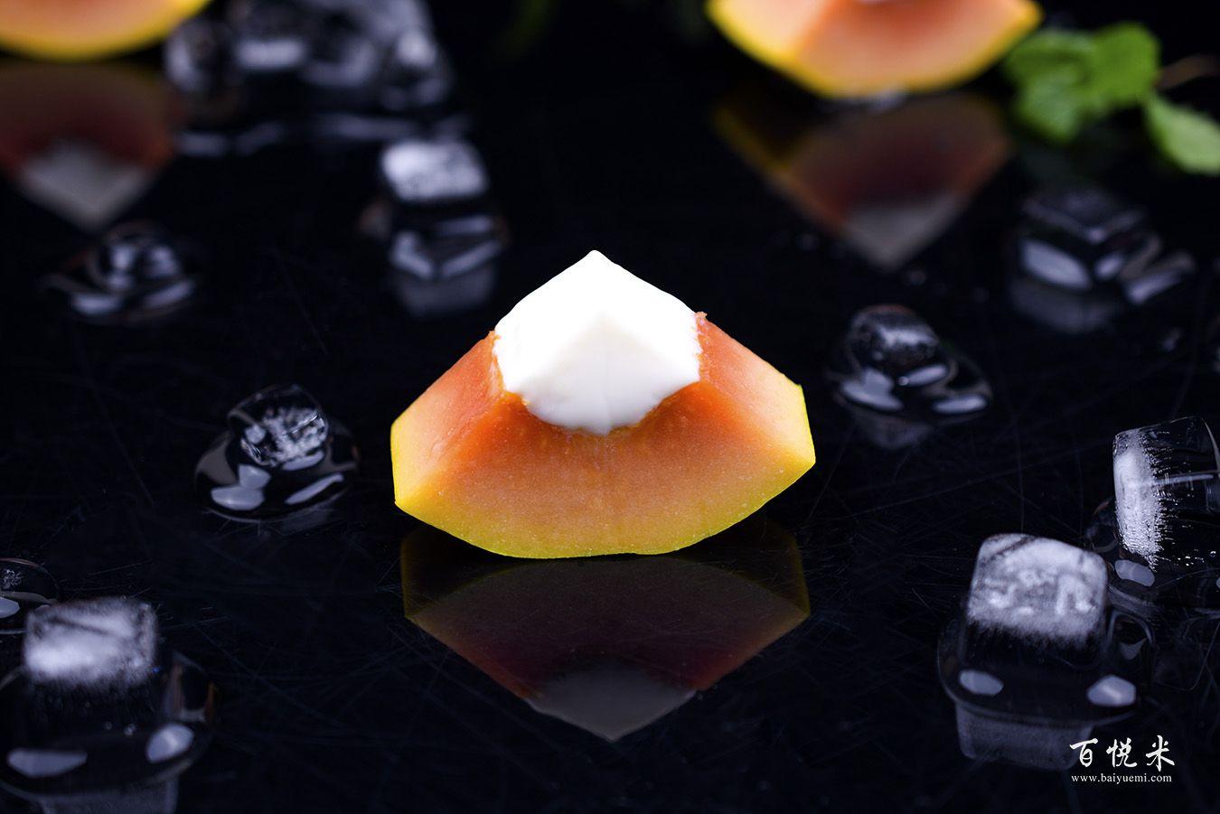 木瓜奶冻高清图片大全【蛋糕图片】